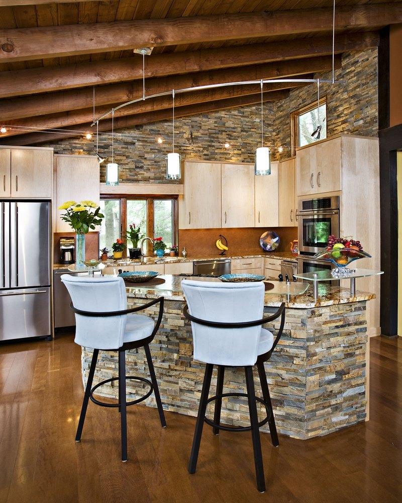 кухни оформление стен фото